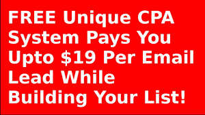 email offer cpa email submit offer pays 19 per email lead youtube