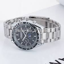 aliexpress com buy automatic watches men full steel brand cjiaba aliexpress com buy automatic watches men full steel brand cjiaba dress watches men s watch date display fold over clasp high quality wrist watch from