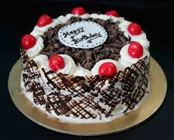 Eggless Black Forest Cake Gayathris Cook Spot