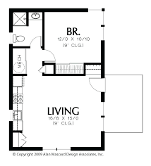 ... guest house with loft plans. small ...