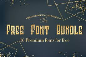 We have 715 free rounded fonts to offer for direct downloading · 1001 fonts is your favorite site for free fonts since 2001. Free Font Bundle Bundle Creative Fabrica