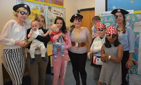 It's a pirate's life for us! Patients raid fancy dress box to promote  benefits of play on children's ward | Echo