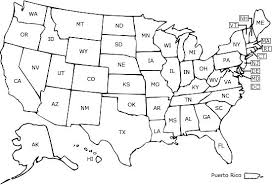 Us Coloring Map Related Coloring Pages Map Of States Visited Us