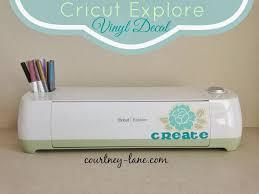 Cricut Machine Designs Courtney Lane Designs Cricut Explore Vinyl Decal
