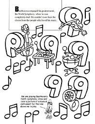 2e5d3d47c2e09de6bad841b24fc018c8 38 best images about school lessons 2nd grade on pinterest on beethoven worksheet