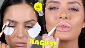 16 best makeup beauty hacks 2017 chloe morello