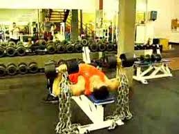 CloseGrip Bench Press With Chains  YouTubeChains Bench Press