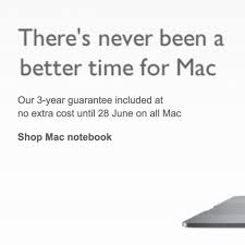 New apple imac hides an expensive shock. U K Retailer John Lewis Offering Free Three Year Guarantee On All Macs And Ipads Until June 28 Macrumors