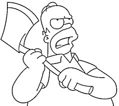 simpsons coloring pages the coloring pages coloring pages best post skateboard colouring pages simpsons characters coloring pages
