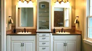 dual sink vanity. Dual Sink Vanity Bathroom Stylish L Shaped Double Luxurious Master With Throughout Drain 48 Inch