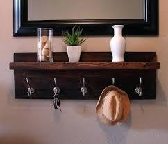 Floating Shelf Coat Rack Mesmerizing Decoration Shelf Coat Rack