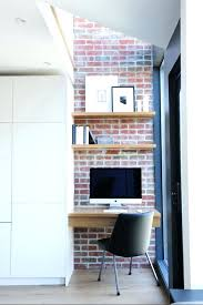 nice office design. Small Modern Home Office Top Design Trends Nice Wooden  Shelves And Suspended Tabletop In Nice Office Design I