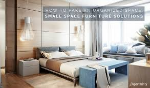 small apartment furniture solutions. How To Fake An Organized Space | Small Apartment Furniture Solutions R