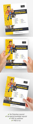 free handyman flyer template 25 best handyman services template images in 2019
