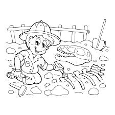 Dino Skelet Tekenen Google Zoeken Daverende Dinos A Kleurplaten