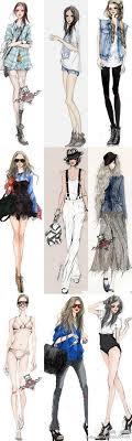 Clothing Design Ideas fashion designing clothing layout drawing