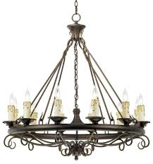 41 most bang up wrought iron chandeliers french country chandelier large metal prefeial ring baccarat