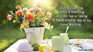 good morning english