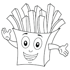 Printable Food Coloring Pages At Getdrawingscom Free For Personal
