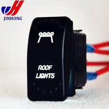 Caravan Light Switch 3 Pin Spst Caravan Car Auto Waterproof Led Light Bar Rocker Switch With Ce Rohs Ul Buy Rocker Light Switch Led Rocker Switch Led Light Bar Rocker
