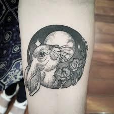 татуировка заяц значение эскизы фото и видео Infotattoo