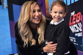 Naya Rivera's son was donning a ...