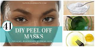 41 diy l off masks for acne blackheads and glowing skin