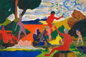 Homage to <b>Nina Simone</b> - Bob Thompson — Google Arts & Culture