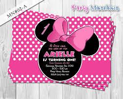 Minnie Mouse Invitation Design Minnie Mouse Invitations Invites Cards For Minnie Mouse