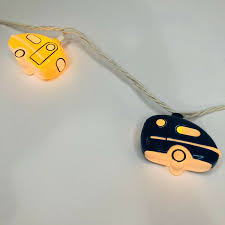 Retro Camper Party Lights Retro Rv Camper Party String Lights For Patio Deck Or Mobile Home L