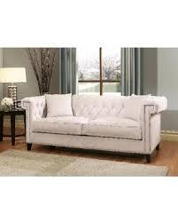 beige tufted sofa. Plain Beige Abbyson Victoria Ivory Velvet Tufted Sofa Inside Beige