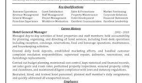 Resume Format For Hotel Management Assistant Hotel Manager Sample