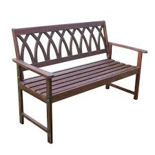 garden benches home depot. Interesting Home Northbeam Wood Outdoor Garden Bench Intended Benches Home Depot K