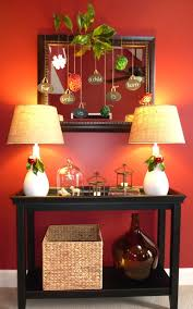 Console Decor Ideas Interiors Furniture Design Console Table Decorating Ideas
