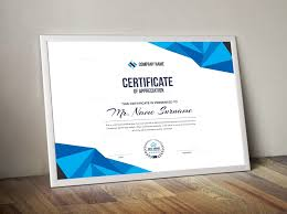 Corporate Certificate Template High Quality Elegant Corporate Certificate Template 000855