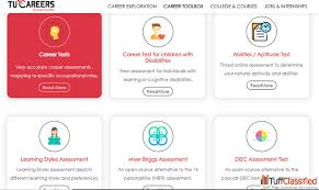 Career Assessment Test Free Take Free Career Tests To Know About Your Career Career