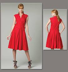 Vogue Dress Patterns Adorable Vogue Patterns 48 Misses Dress