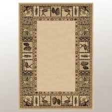 back country rectangle rug