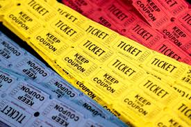 images of raffle tickets double raffle ticket roll assorted colors bingo supply warehouse