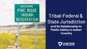 Indian Jurisdiction Chart Tribal Federal State Jurisdiction And Its Relationship To