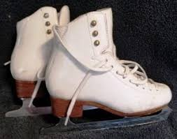 Jackson Freestyle Model 2071 Skating Boot Size 1b With Mirage Blade