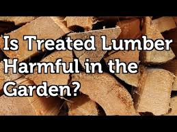 is pressure treated wood harmful to use in the garden