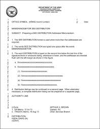 informal memo template informal memorandum army template