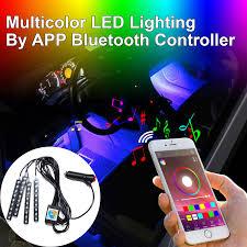 Addmotor Led Lights App Details About Addmotor Led Rgb Light Stripe App Phone Bluetooth Music Controller In Car Kit