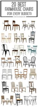 unique dining chair styles best 25 farmhouse chairs ideas on