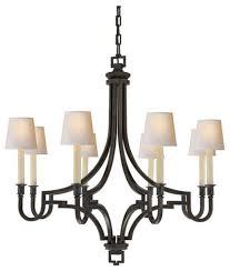 e f chapman mykonos 8 light chandelier