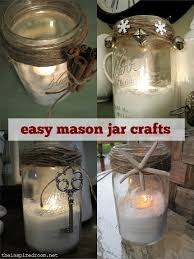 Decorated Jars Craft easymasonjarcraftsjpg 14