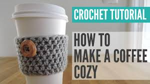 Starbucks Cup Cozy Crochet Pattern Magnificent Design