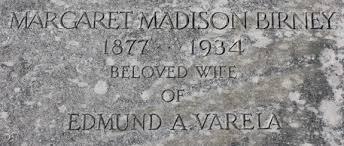 Margaret Madison Birney Varela (1877-1934) - Find A Grave Memorial
