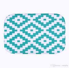 simple design microfiber chenille bath mat jpg